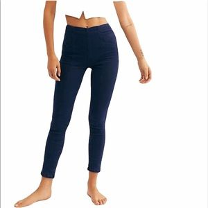 NEW Free People Feel Alright Stretchy Skinny Jeans
